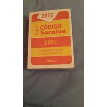 Livro- Mini Código Saraiva -2012 -constituição- Frete Gratis