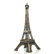 Enfeite De Decoração Torre Eiffel De Paris 32 Cm Em Metal