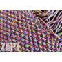 Tapete Crochê Em Barbante(rosa E Azul Bebê)- Zapt Artesanato