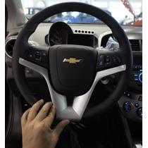 Moldura Central Do Volante Chevrolet Cruz Onix Cobalt Sonic