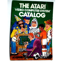 Catalogo Verde Atari - 44 Páginas - Pitfall Hero Enduro
