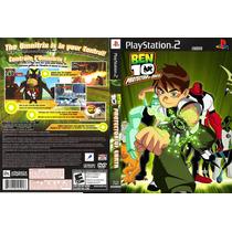 Ben 10 Protetor Da Terra - Playstation 2 - Paty Games.