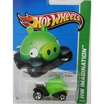 Hotwheels Angry Bird Porco - 2014