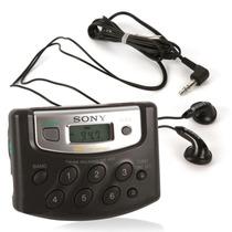 Radio Walkman Sony Am/fm Srf-m37 - Sintonia Digital