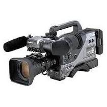 Filmadora Panasonic Ag-dvc200p C/ Lente, Viewfinder Nova Cx!