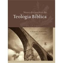 Novo Dicionário De Teologia Bíblica Frete Grátis