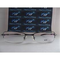 Armação P Óculos Grau, Spender Matte Black Oakley, Envio Já