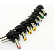 Kit 8 Conector Plug Fonte Universal Notebook Reposição