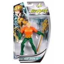 Dc Total Heroes Aquaman Bhd51 Mattel 15 Cm