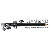 Lápis Diamond Preto Com Glitter P/ Olhos Da Yes! Cosmetics