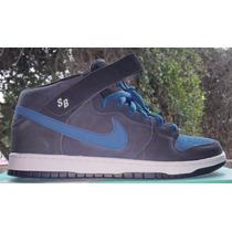 Nike Dunk Mid Pro Sb Blue Force Tam.44 Br - 12 Us