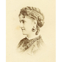 Carte De Visite - Adelina Patti Cantora De Ópera