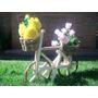 Porta Vasos P/flores E Orquideas-bicleta De Cipó-jadim-artes