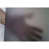 Adesivo Jateado Fumê Decorativo P/ Vidros 1,00m X 1,00m