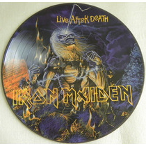 Iron Maiden Live After Death Picture Disc Emi Promotional