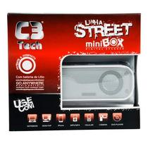 Caixa De Som Minibox C3tech St-150w Branca