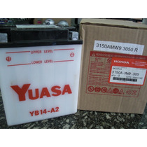 Bateria Original Cbx 750 F Yuasa Yb 14a2 Frete Gratis