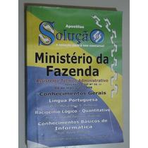 Livro Ministério Da Fazenda Assistente Técnico Administrativ