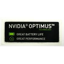Adesivo Original Nvidia Optimus