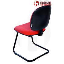 Cadeira Escritório Fixa At20- Vermelha - J.serrano