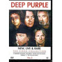 Dvd Deep Purple - New, Live Anda Rare - Vol.2