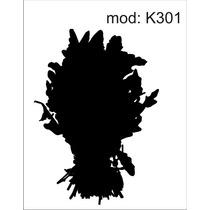 Adesivo K301 Adesivo De Geladeira Folhas Alface Couve Comida