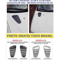 Kit Adesivo Entrada De Ar Capo L200 S10 Ranger Amarok Nissan
