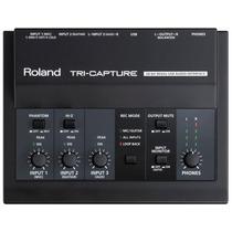 Roland Ua-33 Tri-capture - Interface De Áudio Usb + Garantia