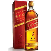 Whisky Johnnie Walker Red Label Original 1000ml (1litro) Es