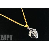 Colar Modern (cordão De Barbante Encerado) - Bijouteria Fina