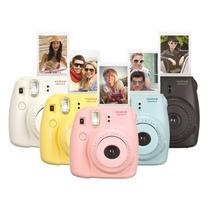 Câmera Instantânea Fuji Instax Mini 8 - Várias Cores!