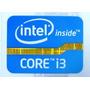 Adesivo Original Intel Core I3 2º Geração P/ Desktop
