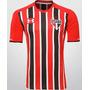 Camisa São Paulo Tricolor 2016 Branca/listrada Confira