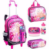 Kit Mochileters Barbie Rock