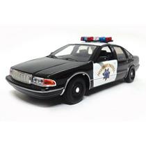 Chevy Caprice 1993 California Policia Esc.1:24 Motor Max