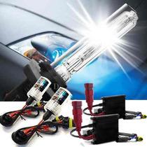 Kit Xenon H1 H3 H4 H7 H11 6000k 8000k Reator Anti Flicker