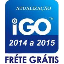 Atualização Gps Igo8 2015 Central Multimidia Caska/m1/corola