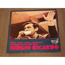 Sérgio Ricardo - 1973 - C/ Piry, Franklin Raro