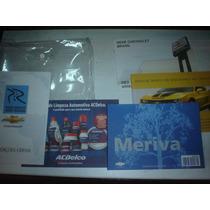 Manual Gm Meriva 2010 2011 Original Chevrolet Proprietario