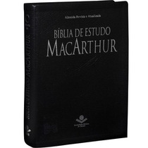 Bíblia De Estudo Macarthur + De 20.000 Notas Frete Grátis