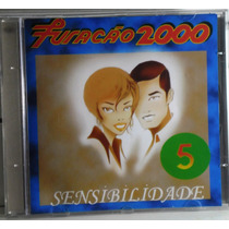Funk Black Romântico Cd Furacão 2000 Sensibilidade Vol 5