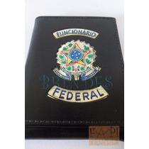 Porta Cheque Funcionário Federal C56p Não Tem Agente Polícia