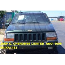Eixo Do Diferencial Cherokee V8 96 Traseiro