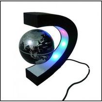 Globo Magnético Flutuante Led - Suspenso No Ar - Decoração