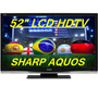 Tv De Lcd Sharp Lc-52d64u De 52 Polegadas