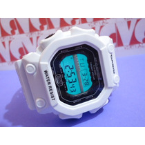 Relogio Atlantis Original Gshock Quadrado Branco Big = Casio