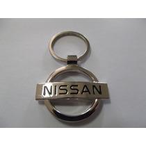 Chaveiro Nissan, March, Versa, Livina, Tiida, Sentra, Fronti