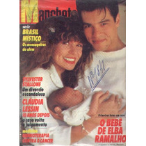 Manchete 1987.elba.stallone.claudia Lessin.fafá.marinha.moda