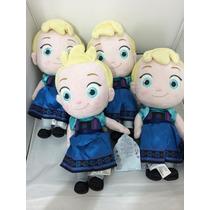 Elsa Baby Plush Frozen Uma Aventura Congelante Disney Store