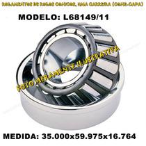 Rolamento Automotivo L68149/11 Med:35.000x59.975x16.764